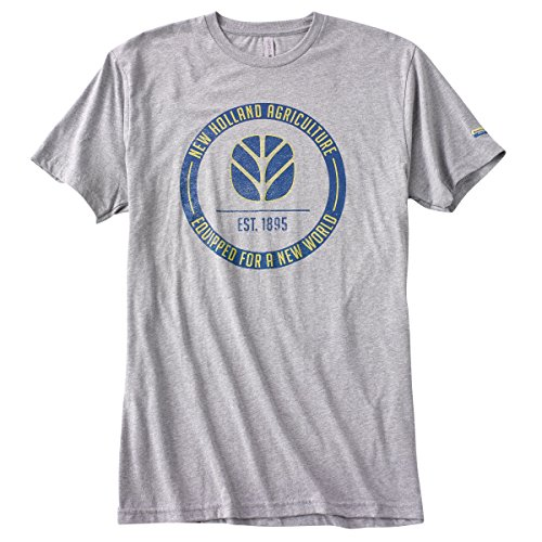 New Holland Grey T-Shirt (Large) from New Holland Country