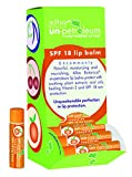 Alba Un-Petroleum Tangerine Lip Balm, SPF 18 , 0.15-Ounce Tubes (Pack of 24)