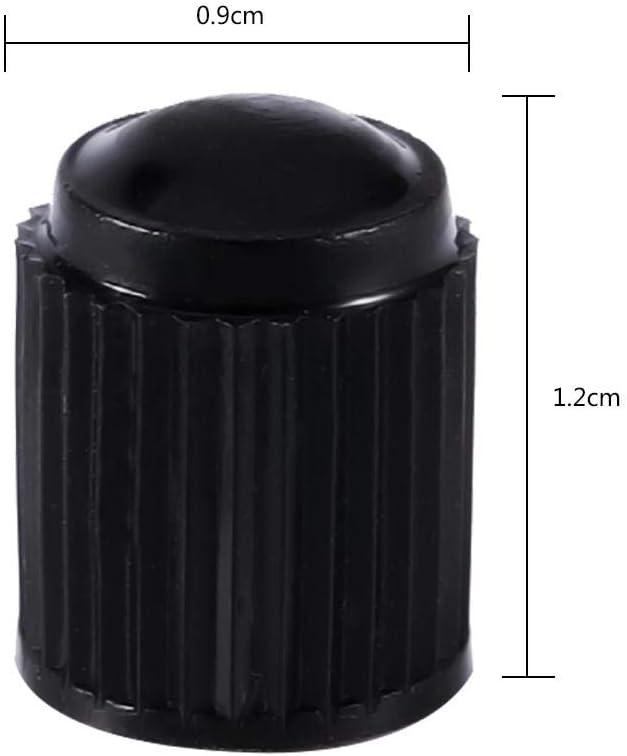motos et v/élos PlasticTire Rouge Embouts de tige de valve de pneu Couvertures de tige universelles pour moto