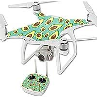 MightySkins Protective Vinyl Skin Decal for DJI Phantom 4 Quadcopter Drone wrap cover sticker skins Seafoam Avocados