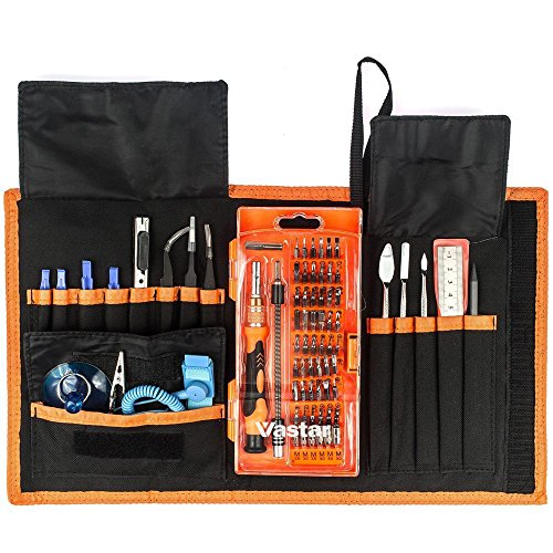 Vastar Magnetic Driver Kit, Precision Screwdriver Set for Cell Phone, Tablet, PC, MacBook, Electronics Repair Tool Kit with Clean Cloth (Electronic Drill Set compare prices)