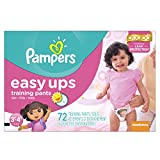 Pampers Girls Easy Ups Training Underwear 3T-4T