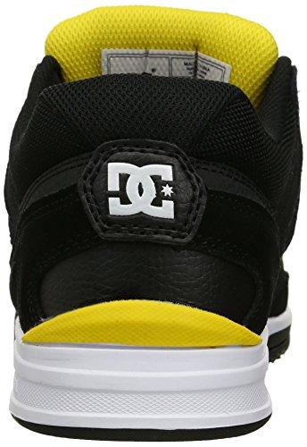 DC Men's Stag Skate Schuh Schwarz Gelb