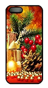Christmas Attributes Custom iPhone 5s/5 Case Cover Polycarbonate Black by icecream design