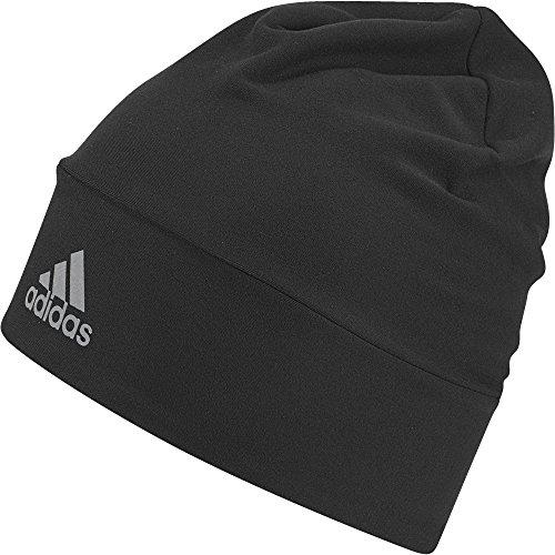 adidas Herren Run Climalite Mütze, Black/Reflective Silver, OSFL