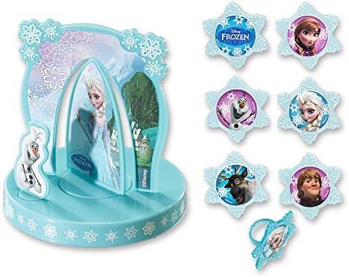 Amazon.com: DecoPac Disney Frozen Anna & Elsa DecoSet ...
