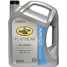 Pennzoil synthetic oil for Pennzoil ultra platinum 0w 40 motor oil