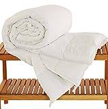 Dream-On Down Alternative Hypo-allergenic Duvet Insert with Corner Tabs, 114x98 inches, White, King Plus