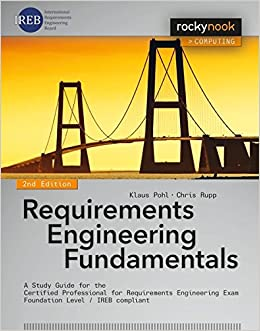 amazon requirements engineering fundamentals a study guide for