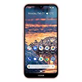 Nokia 4.2 - Android One (Pie) - 32 GB - 13+2 MP Dual Camera - Dual SIM Unlocked Smartphone (AT&T/T-Mobile/MetroPCS/Cricket/H2O) - 5.71' HD+ Screen - Pink - U.S. Warranty