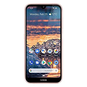 Nokia 4.2 – Android One (Pie) – 32 GB – 13+2 MP Dual Camera – Dual SIM Unlocked Smartphone (AT&T/T-Mobile/MetroPCS/Cricket/H2O) – 5.71″ HD+ Screen – Pink – U.S. Warranty