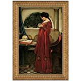 Design Toscano The Crystal Ball, 1902, Canvas Replica Painting: Small