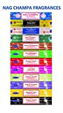 Satya Nag Champa Assorted Incense (Set of 12) by