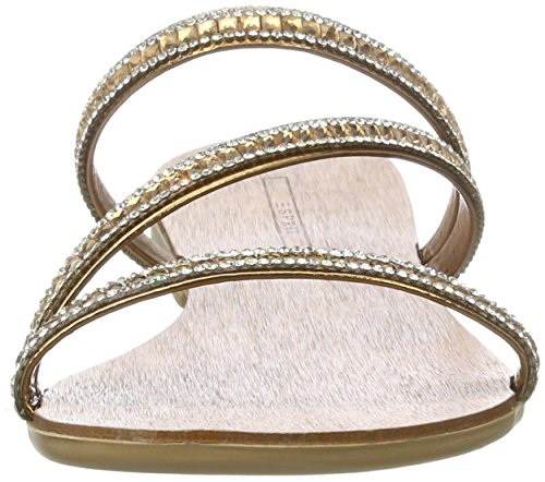 Esprit Nil Sandal, Sandalias con Cuña para Mujer Dorado (790 Gold)
