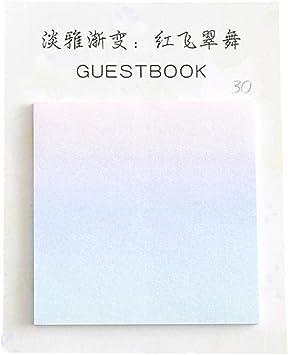 Amazon Com Gbell Gradient Color Post Note Books Creative Memo