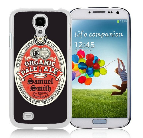 Generic Samsung Galaxy S4 i9500 Samuel Smith Organic Pale Ale White Shell Case (Smith Ale Samuel)