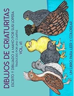 Dibujos de Criaturitas (Volume 1) (Spanish Edition)