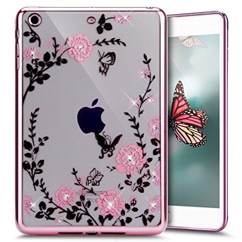 Silicone Clear Case for Apple iPad Mini 1/2/3 (Clear) - 4