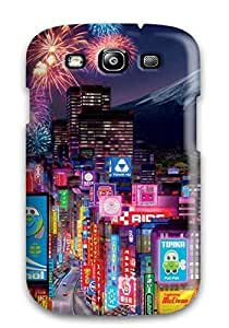 New Premium BWiujZD1408YdXgo Case Cover For Galaxy S3/ Tokyo City In Cars 2 Protective Case Cover