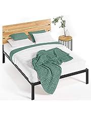 Zinus Sonoma Metal & Wood Platform Bed with Wood Slat Support, Full