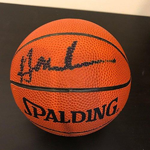 Hakeem Olajuwon Signed Autographed Spalding Mini Basketball PSA DNA COA (Spalding Basketball Autographed Mini)