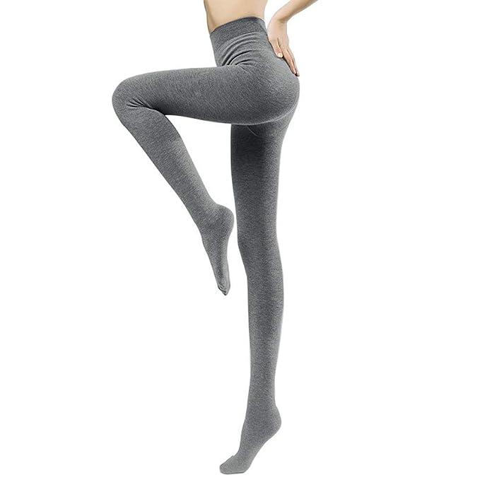 6e45c1e9c Jeffy   Retro Women s Tights with Fleece for Winter (Grey