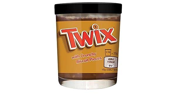 Twix Pasta para Barrar Con Trozos de Galleta Crocantes, 200 gramos, 1 unidad: Amazon.es: Alimentación y bebidas