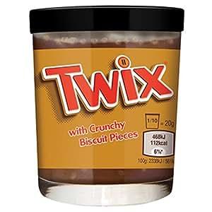 Twix Spread With Crunchy Biscuit Pieces 200g