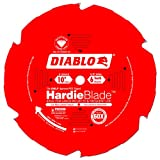 Freud Diablo 10-Inch by 6 Tooth Polycrystalline Diamond Tipped TCG Hardie Fiber Cement Saw Blade 5/8-Inch Arbor Perma-Shield Coated