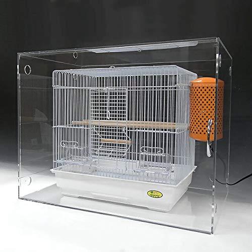 アクリル 鳥かご カバー スライド式 W780×H600×D615 小ワイドタイプ B01M0F7OBA W450×H440×D330  W450×H440×D330