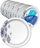 Dixie Dinner Size, Disposable Plates, 550 Count Total
