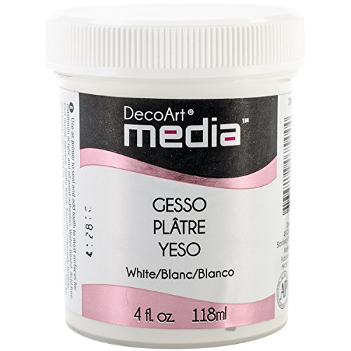 Deco Art Media Gesso, 4-Ounce, White -