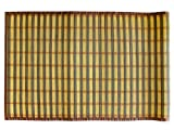 Textiles Plus 100-Percent 24-Inch by 60-Inch Natural Bamboo Floor Mat/Runner