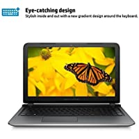 2017 HP Pavilion 15.6-Inch Full HD 1920x1080 Display Premium Laptop, Intel Core i5-6200U Processor, 6GB RAM, 1TB HDD, DVD Drive, HDMI, WIFI, Bluetooth, Webcam, Windows 10, Silver