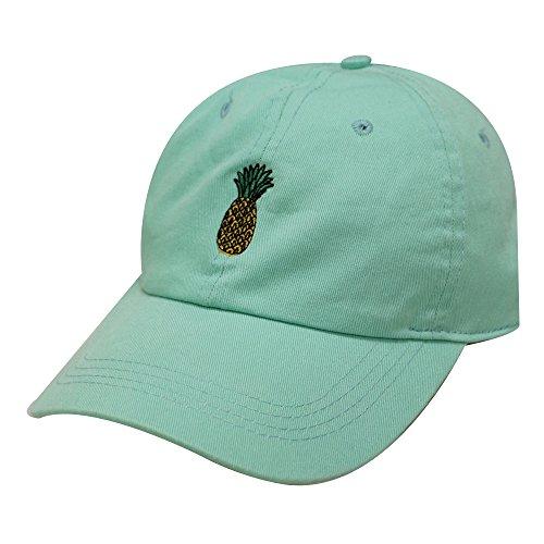 City Hunter C104 Pineapple Cotton Baseball Cap Multi Colors (Mint)