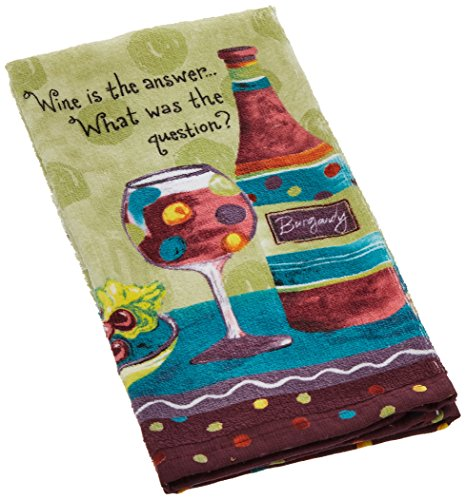 Kay Dee Designs R1020 Wine Is The Answer What Was The Questi