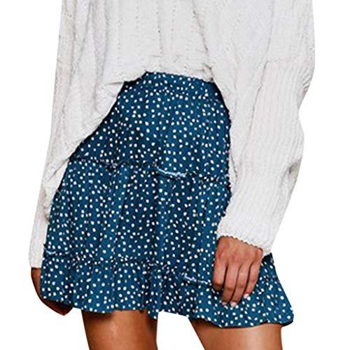 Damen Mode Maxirock Freizeit Faltenröcke Hohe Taille Strand Lange Röcke Slim Fit