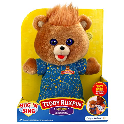 Teddy Ruxpin Hug N Sing Interactive Stuffed Bear Toy Exclusive