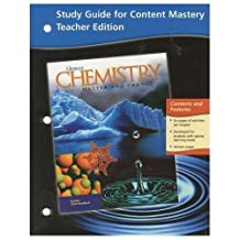 Study Guide for Content Mastery: Chemistry; Matter and Change