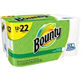 Bounty Paper Towels, Super Rolls, 74 sheets, 12 rolls