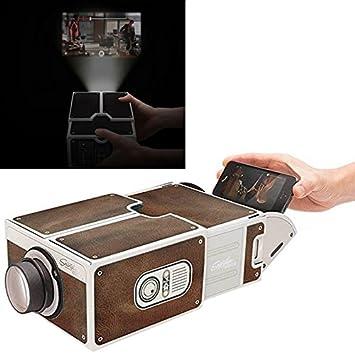Wewoo Proyector 2.0 de Smartphone de Cartón/Cine portátil de de ...