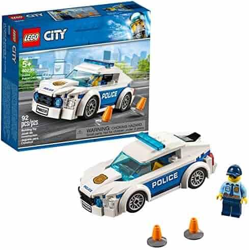 LEGO City Police Patrol Car 60239 Building Kit, 2019 (92 Pieces)