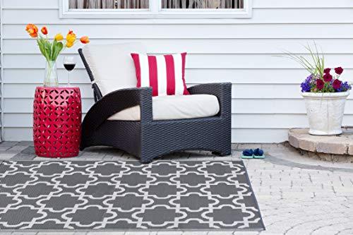DII marroquí interior/al aire última intervensión ligero Reversible resistente a la decoloración alfombra de área, ideal...