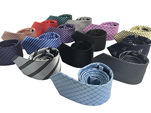 Luxury Men's Neckties,100% Italian Microfiber Handmade, 15 Stunning Variations