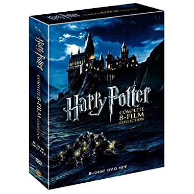 Harry Potter (DVD, 2011, 8-Disc Set) Complete 8-Film Collection :New free shipping