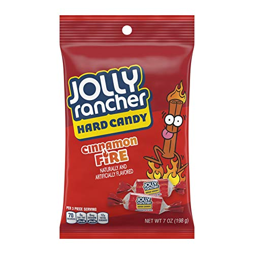 JOLLY RANCHER Hard Candy, Cinnamon Fire, 7 Ounce (Pack of 12)]()