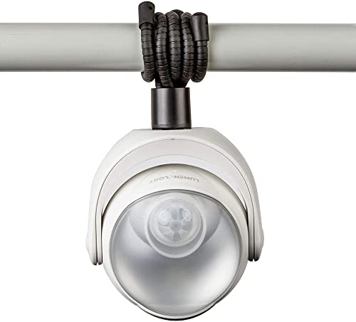 Lumenology Portable LED Motion Sensor Light Provides 148 Lumens with a 13 ft Detectable Range and Flexible Tripod Base with Magnetic Option Indoor Outdoor White