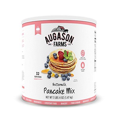 Augason Farms Buttermilk Pancake Mix 3 lbs 4 oz No. 10 ()