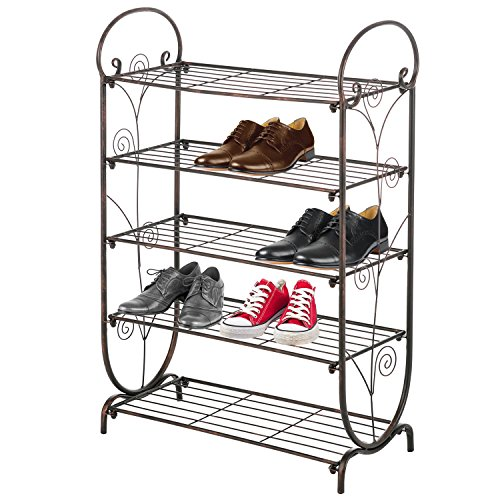 shoe rack bronze - 8