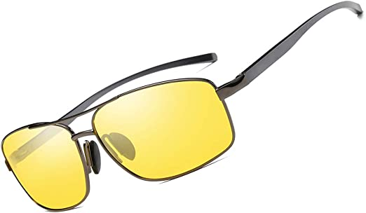 HD Anti Glare Night Vision Men Polarized Driving Sunglasses Unisex Glasses